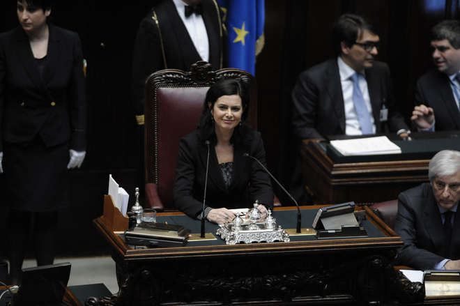 Discorso Camera Boldrini : La presidente della camera xvii legislatura album